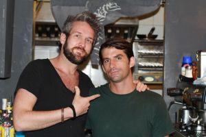 Myself with Juan the man.